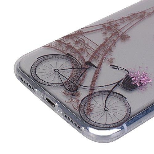 iPhone X Hülle, Asnlove Case Silikon TPU Schale Transparent Durchsichtig [Ultra Dünn] Klar Weiche Bumper-Style Handyhülle Premium Schutzhülle für iPhone X / iPhone 10 5.8 Zoll 2017 Case Cover - Crysta Style-3