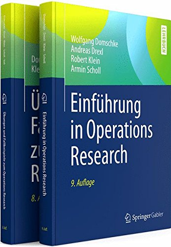 Lehr- und Arbeitsbuch Operations Research im Paket (2 Vol Set)