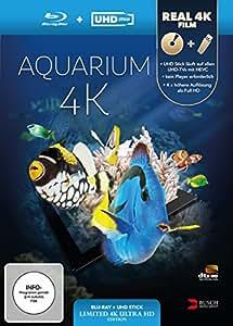 Aquarium 4k (Uhd Stick in Real [Blu-ray] [Import anglais]