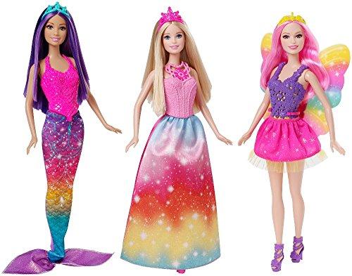 Barbie Fairytale CKB30 muñeca - Muñecas (Beige,, Rosa, Femenino, Chica, 3 año(s), 3 Pieza(s))