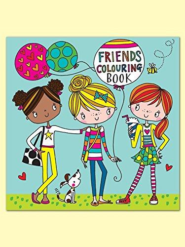 Rachel Ellen Designs Malbuch mit englischsprachiger Aufschrift Friends