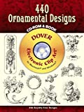 440 Ornamental Designs [With CDROM] (Electronic Clip Art)