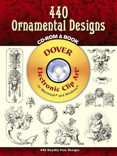 440 Ornamental Designs [With CDROM] (Electronic Clip Art) -
