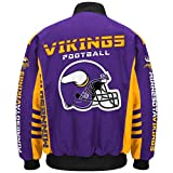 "Minnesota Vikings Men's NFL G-III ""Defender"" Premium Twill Jacket - 2"