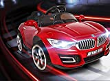 #5: Baybee BWM Battery Operated Ride On Car for Kids with Music, Horn, Headlights with 30Kg Weight Capacity - Red
