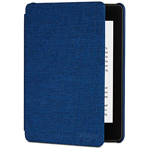All-New Kindle Paperwhite Water-Safe Fabric Amazon Cover (10th Gen), Blue
