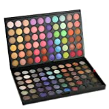 PhantomSky 120 Colours Eyeshadow Palette Makeup Contouring Kit #3 - Perfect for Professional and Daily Use