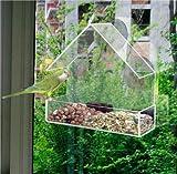 Klar Glas Fenster betrachten Futterhaus Hotel Tisch Seed Peanut Saugnapf zum Aufhängen