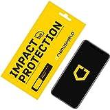 RhinoShield Protection Écran pour iPhone X/XS Anti-Chocs | Film Protecteur Haute qualité avec Technologie de Dispersion des Chocs - Transparence 99% et résistance aux Rayures et aux Traces de Doigts