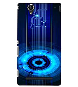 SONY XPERIA T2 CIRCLE Back Cover by PRINTSWAG