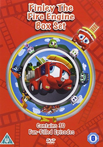 Finley the Fire Engine Volume 1 To 3 DVD [VHS]