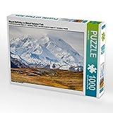 Mount McKinley im Denali National Park 1000 Teile Puzzle quer: Alaska - faszinierend anders (CALVENDO Orte)