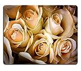 Mousepads ein Strauß creme Rosen Blumen Bild-ID 22700877von Liili Individuelle Mousepads fleckenresistenz Collector Kit Küche Tisch Top Schreibtisch Drink Individuelle fleckenresistenz Collector Kit Küche Tisch Top Schreibtisch