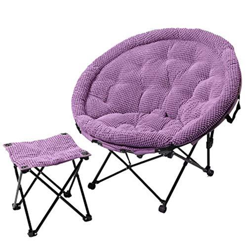 YONGYONG Mittagspause Klappstuhl Zurück Stuhl Mond Stuhl Sonnenliege Freizeit Faul Couch Stuhl...