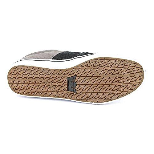 Herren Sneaker Supra Stacks Vulc Sneakers black suede/grey canvas