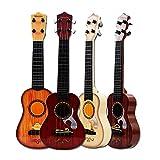 leegoal Kinder-Gitarre, natürliche Simulation, Holz, Spielzeug für Jungen und Mädchen, Mini-Ukulele für Kleinkinder, Kinder, Studenten, Erstanfänger