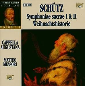 Heinrich Schutz Edition vol. 1 - Symphoniae Sacrae 1 et 2 / Weihnachtshistorie