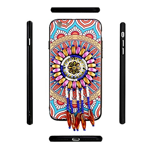 iPhone 7 Vintage Coque, Ultra Fine Resistante de Protection, Fleur Tropical Case Cover Pour iPhone 7 (Color-D) Color-A