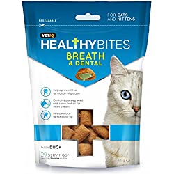 VETIQ Breath And Dental Katzensnacks (65 g) (Mehrfarbig)