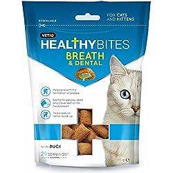 VETIQ Breath And Dental Katzensnacks (65 g) (Mehrfarbig)
