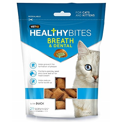 VETIQ – Croccantini per l'igiene dentale – Gatti
