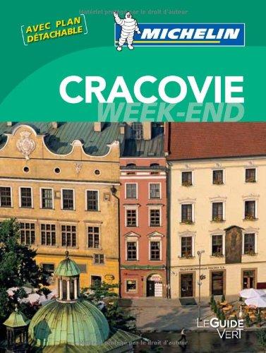 Le Guide Vert Week-end Cracovie Michelin par Collectif Michelin