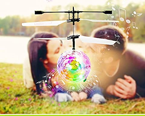 Enfants Flying Toys, Oyedens Musique RC Flying Ball, RC Drone