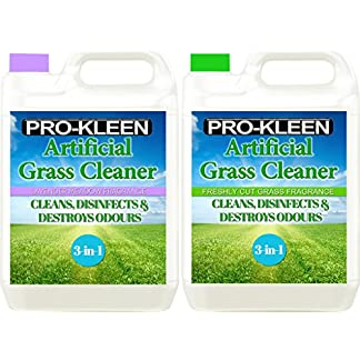 Pro-Kleen Artificial Grass Cleaner - Perfect for Homes with Dogs - Super Concentrate - (Double Pack: Lavender & Freshly… 7