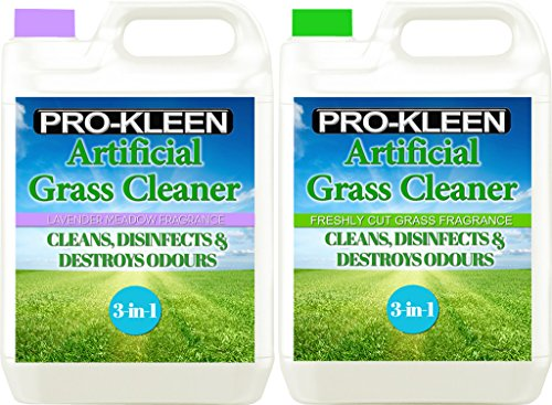 Pro-Kleen Artificial Grass Cleaner - Perfect for Homes with Dogs - Super Concentrate - (Double Pack: Lavender & Freshly… 1