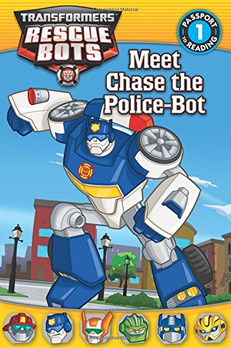 Meet Chase the Police-Bot (Transformers: Rescue Bots)
