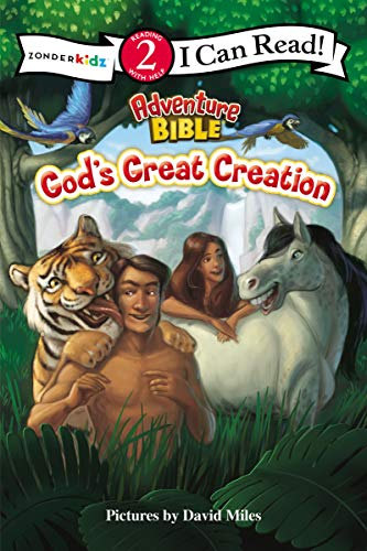 God's Great Creation: Level 2 (I Can Read! / Adventure Bible)