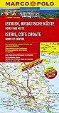 MARCO POLO Karte Istrien, Kroatische Küste Nord und Mitte 1:200.000 (MARCO POLO Karte 1:200000)