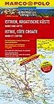 MARCO POLO Karte Istrien, Kroatische...