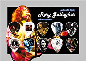 Rory Gallagher Guitar Médiator Display (A5)