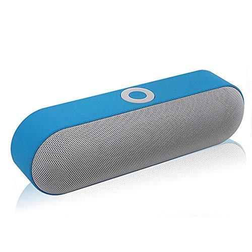 XAJGW Altavoz portátil Bluetooth con Altavoz de Doble Controlador, 12 Horas de...