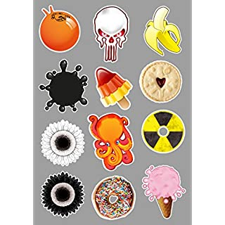Artisticky MINI sticker collection Phones/Tabs/Home/Office/Anything - Freepost UK