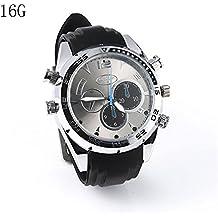 51861ea4f1bb Reloj Impermeable Full HD 1080P 1920 × 1080P Cámara espía Reloj Impermeable  Mini DV caché Visión