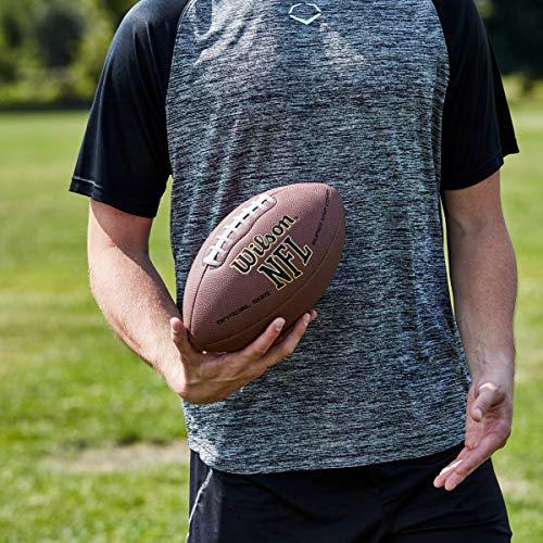 Wilson NFL Super Grip Fußball, braun, Official - 4