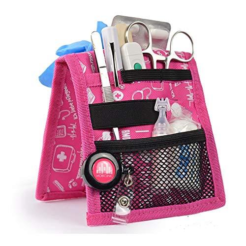 Organizador auxiliar de enfermería para bata o pijama | estampados en rosa | Keen\'s de Mobiclinic | Elite Bags