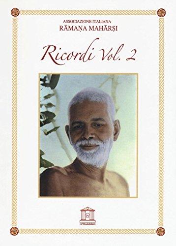 Ramana Maharshi. Ricordi: 2 (Vidya Bharata)