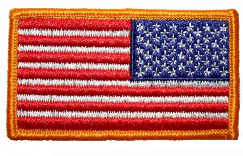 Rothco Reverse US Flag Patch, 2'' x 3'' - Reverse-flag-patch
