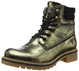 Tamaris Damen 25242 Kurzschaft Stiefel, Gold (Gold Antic 983), 39 EU