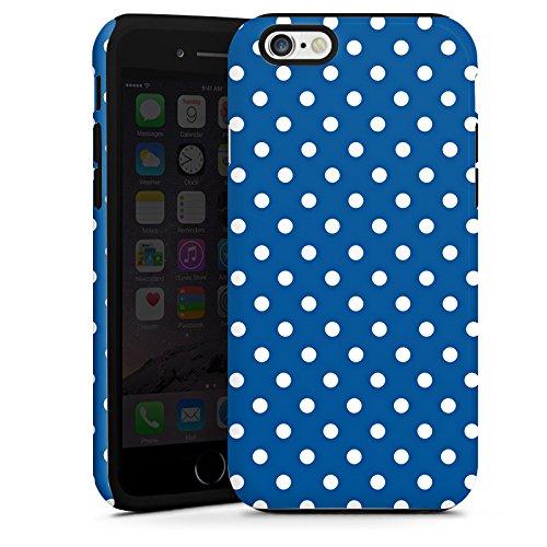 Apple iPhone 5s Housse Étui Protection Coque Petits points Motif Motif Cas Tough terne