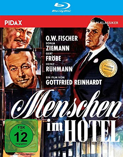 Menschen im Hotel / Mit dem Prädikat WERTVOLL ausgezeichnete Bestsellerverfilmung in brillanter HD-Qualität (Pidax Film-Klassiker) [Blu-ray]