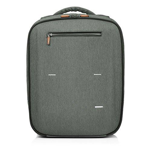 """Cocoon GRAPHITE - 15"""" MacBook Pro Backpack & Organizer mit elastischen Bänder / Business-Rucksack / Daypack für Laptops / Wasserabweisend..."""
