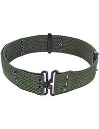 Highlander Pistol Belt - Black, Olive Or DPM Camo
