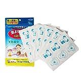 KOBWA Mückenschutz Pflaster, 36Pcs Natürlich Deet Frei Mückenschutz-Aufkleber, Anti-Mücken-Flecken-Karikatur-Aufkleber für Kinder Erwachsene