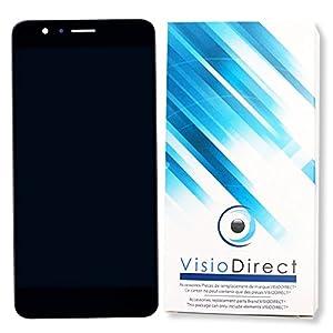 Visiodirect® Ecran complet pour Huawei Honor 8 Pro noir 5.7