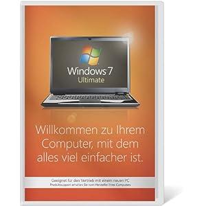 51RiBptqDDL. SS300  - Windows 7 Ultimate 64 Bit OEM [Alte Version]