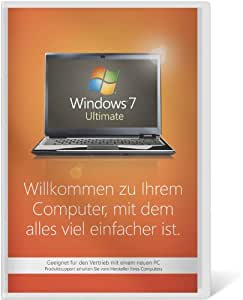 Windows 7 Ultimate 32 Bit OEM [Alte Version]
